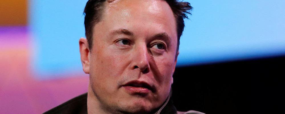 Anonymous hits at Elon Musk